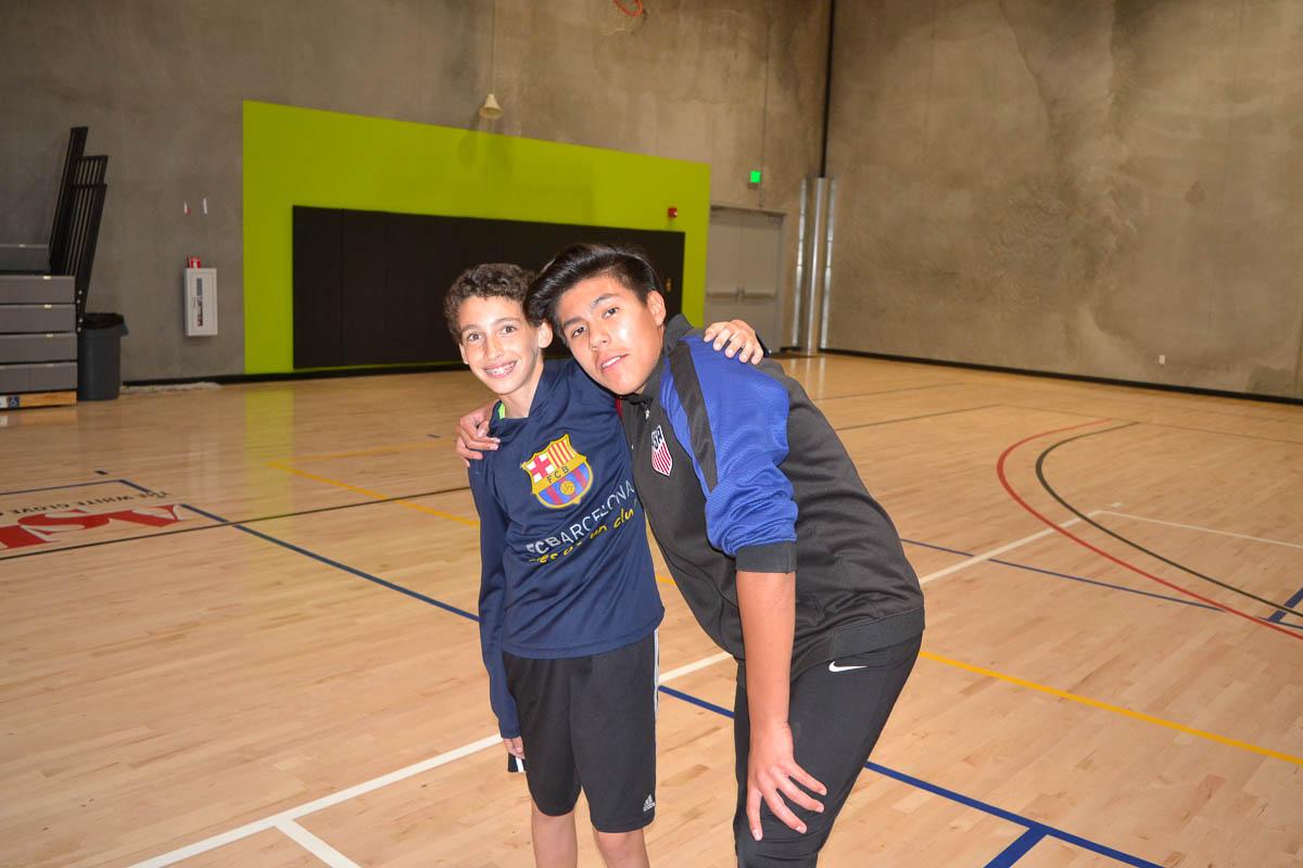 Basketball courts BGCEC